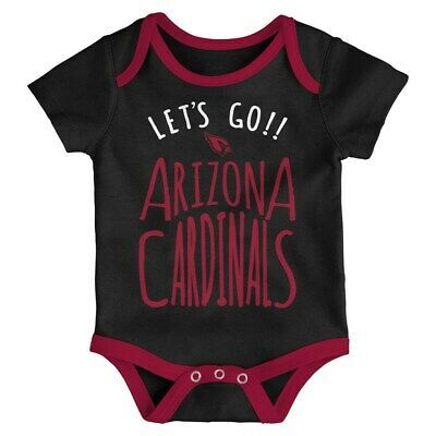 new product 786c7 8e8d8 ARIZONA CARDINALS CREEPER Bodysuit Infant Baby 6-9 months ...