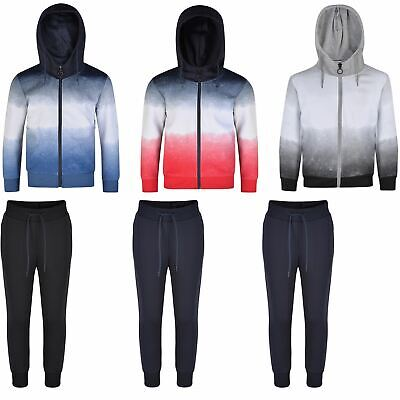 Lotmart Kids Ombre Jacket or Trousers Hooded Top Jogging Bottoms