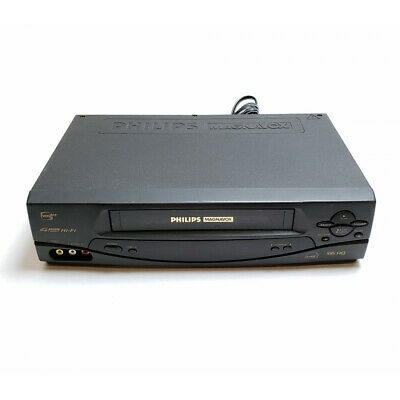 PHILIPS/ MAGNAVOX VRA671AT21 VCR Player/ Recorder: Tested And
