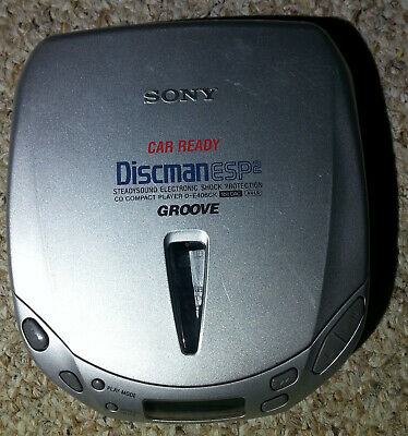 Sony Car Ready Discman D-E406CK ESP2 Portable CD Player Walkman