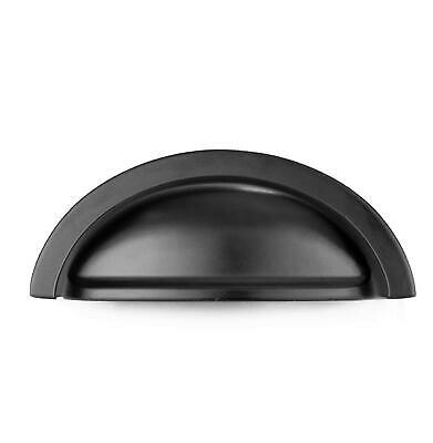 KITCHEN CABINET PULLS Black - 3 Inch Bin Cup Drawer Handles ...