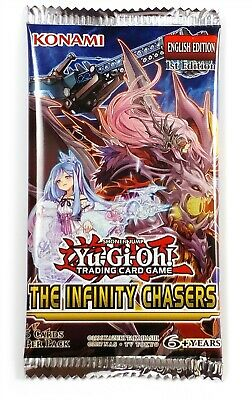 Konami Yu-Gi-Oh! Legendary Duelist The Infinity Chaser Booster Pack, New