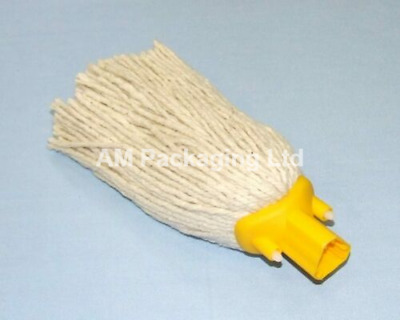 PY14 Socket Mop Head Red  Blue Yellow Floor Cleaning Colour Coded (Qty 1)