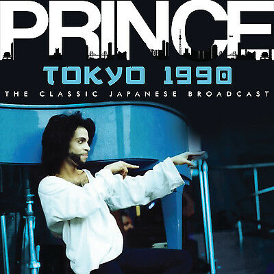 PRINCE New Sealed 2019 UNRELEASED LIVE 1990 TOKYO JAPAN CONCERT CD