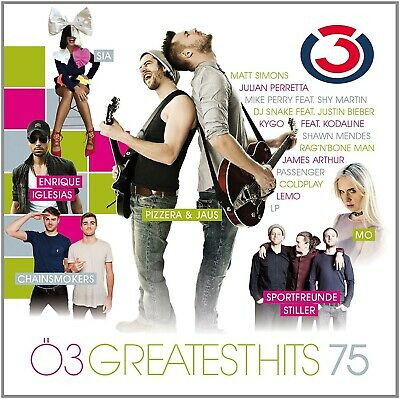 Ö3 Greatest Hits,Vol.75 Cd New+  Sia/Passenger/Coldplay/Sportfreunde Stiller//+