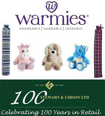 Warmies Hot Water Bottles and Microwavable Soft Plush Toys