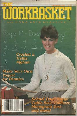 Workbasket Magazine - September 1983 - Crafts, Knit, Crochet, Sew and More!