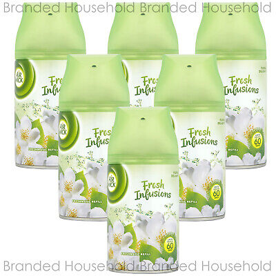 6 x AIR WICK FRESHMATIC AUTOMATIC REFILL AIR FRESHENER FLORAL DELIGHT 250ML