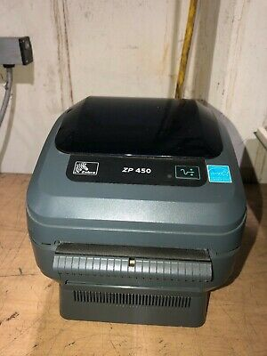 Zebra Zp450 Direct Thermal Shipping Label Printer Barcode