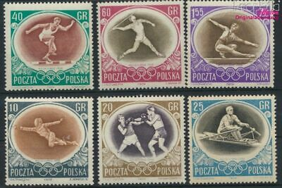 Poland 984-989 (complete issue) unmounted mint / never hinged 1956 16. (9287068