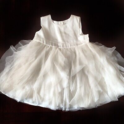 6ea0ba16f BABY GAP SIZE 12-18 Months Girls White Dress -  5.99