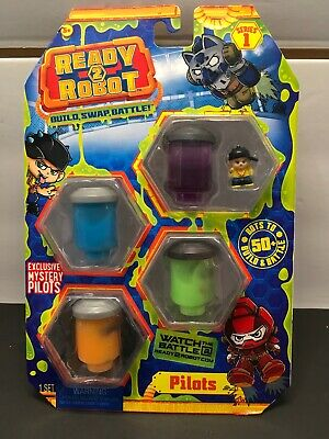style/color vary Multicolor Ready to Robot Pilots Collectable Toy