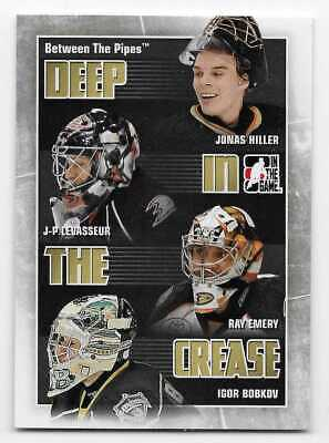 10/11 BETWEEN THE PIPES DEEP IN THE CREASE Hockey (#DC1-DC30) U-Pick From List