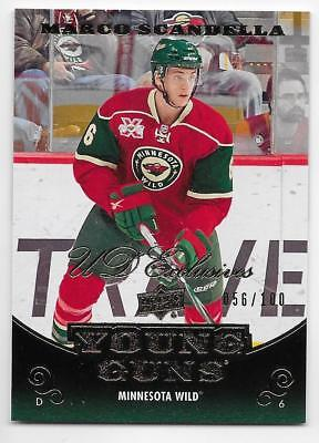 10/11 UPPER DECK UD EXCLUSIVES PARALLEL Hockey /100 (#1-500) U-Pick From List