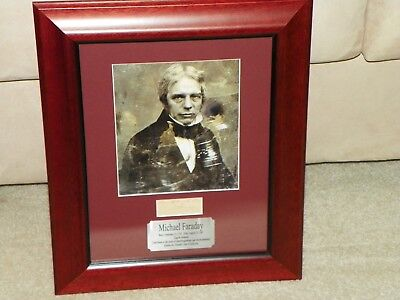 Michael Faraday signed autograph - PSA/DNA Authenticated