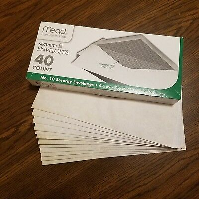40 Tea Stained Coffee Dyed Business Size Envelopes for Scrapbooking - Journaling