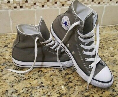 40bfec68e6780d Converse Chuck Taylor All Stars Boys High Top Youth Shoes Size 3 Sneakers  Gray