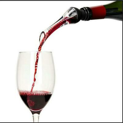 Red Wine Aerator Pour Spout Bottle Stopper Decanter Pourer Aerating Supplies JH