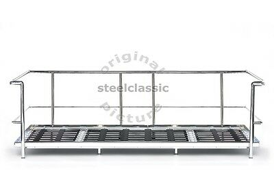 Lc2 Sofa Stainless Steel  Frame- Brand New-Below My Wholesale Cost!