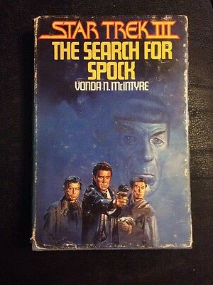 Star Trek III, the Search for Spock by Vonda N. McIntyre Book Club Edition 1984