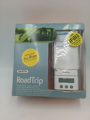 GRIFFIN RoadTrip FM Transmitter & Auto Charger for Apple iPod