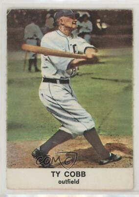 1961 Golden Press Hall of Fame #25 Ty Cobb Detroit Tigers Baseball Card