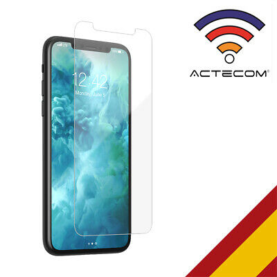 ACTECOM@ PROTECTOR DE PANTALLA PARA IPHONE XR CRISTAL TEMPLADO glass tempered