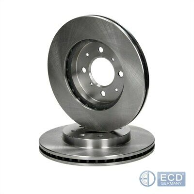 Front Vented Brake Discs BMW 3 Series 320 d Saloon 2001-05 150HP 300mm