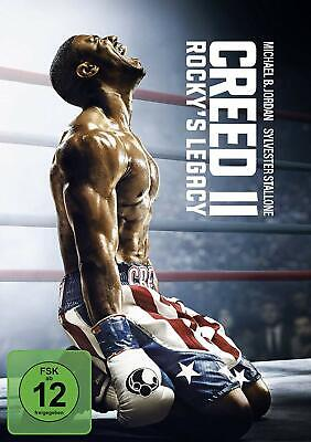 Creed II: Rocky's Legacy [DVD] *NEU* DEUTSCH mit Sylvester Stallone, Creed 2