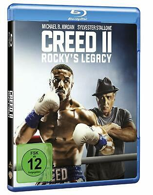 Creed II: Rocky's Legacy [Blu-ray] *NEU* DEUTSCH mit Sylvester Stallone, Creed 2