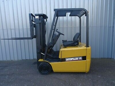 3W Cat Ep16Kt.  Used Electric Forklift Truck. (#2331)