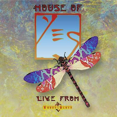 Yes - House Of Yes-Live From House Of Blues Limited  3 Vinyl Lp + 2Cd New+