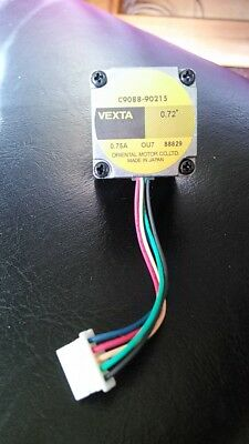 Stepper Motor, NEMA 11 .72Degrees, .75A, Oriental Motor, 5 phase, Lot of 2, USED