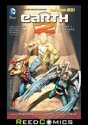 EARTH 2 VOLUME 2 THE TOWER OF FATE GRAPHIC NOVEL New Paperback Collects #7-12, 0