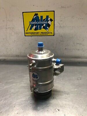 AH Fabrications Alloy 1 Litre Regualtion Oil Catch Tank, Rally, Race, Hillclimb
