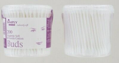Simply 100% Cotton Buds - Pack Of 200