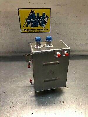 AH Fabrications Aluminium Alloy 3 Litre  Oil Catch Tank. Race, Rally, Fast Road