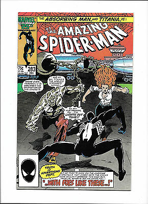 """Amazing Spider-Man #283  [1986 Fn+]  """"With Foes Like These..!"""""""