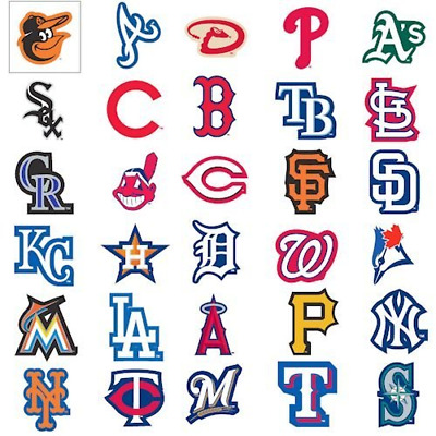 MLB Team Logo Decal Stickers Baseball FULLY LICENSED INDOOR USE ONLY