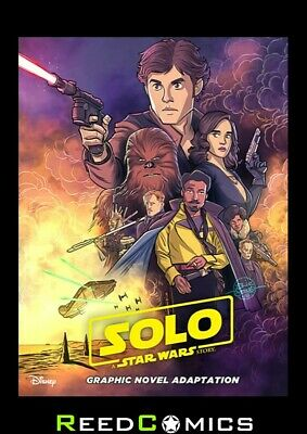 STAR WARS SOLO ADAPTATION GRAPHIC NOVEL IDW EDITION New Paperback