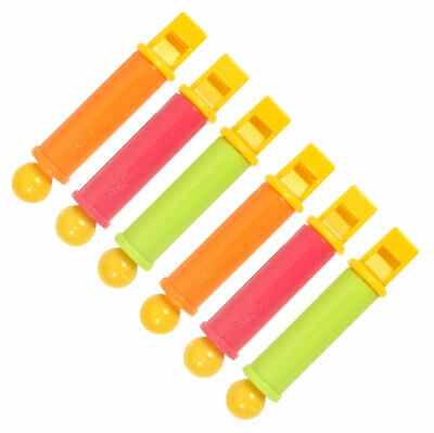6 Mini Slide Whistles - Pinata Toy Loot/Party Bag Fillers Wedding/Kids