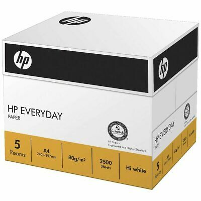 HP Everyday Paper A4 80gsm 500 Sheets 5 Pack x 5