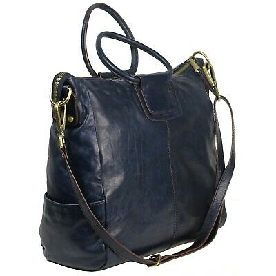 7e601997e81c12 Hobo International SHEILA Crossbody Convertible Shoulder Bag Travel Ink Blue