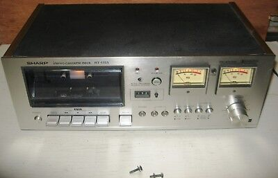 """Sharp RT-1155 works but has one issue read for details! Parts or repair """"AS IS"""""""