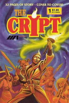 Crypt (1987 series) #1 in Very Fine condition. [*ms]