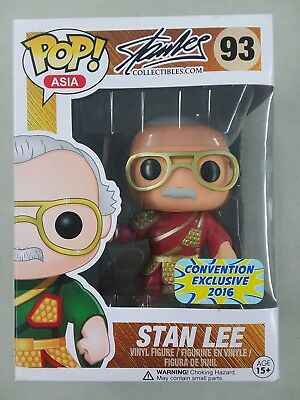 POP ASIA CONVENTION Exclusive 2016 : STAN LEE #93 Guan Yu