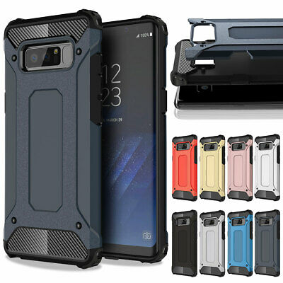 Luxury Hybrid Rugged Rubber Case Shockproof Cover For Samsung Galaxy Note 8 9