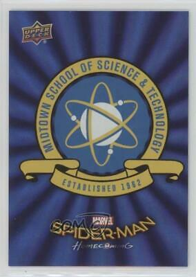 2017 Upper Deck Spider-Man Homecoming Wal-Mart Exclusive Blue Foil #RB-17 4r3