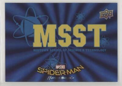 2017 Upper Deck Spider-Man Homecoming Wal-Mart Exclusive Blue Foil #RB-7 4r3