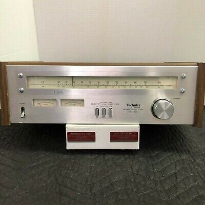 Technics St-7300 Vintage Am/Fm Stereo Tuner - Serviced - Cleaned - Tested